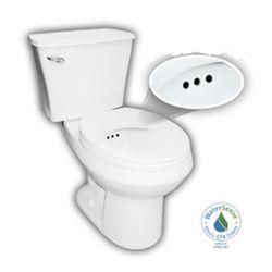 PENGUIN LLC La toilette Penguin avec une base brute de 10 pouces (forme de cuvette ronde)