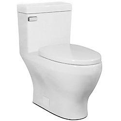 Icera USA The Cadence Compact Elongated, 1-Piece Skirted Toilet