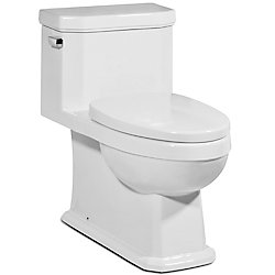 Icera USA The Octave Elongated 1-Piece Skirted Toilet