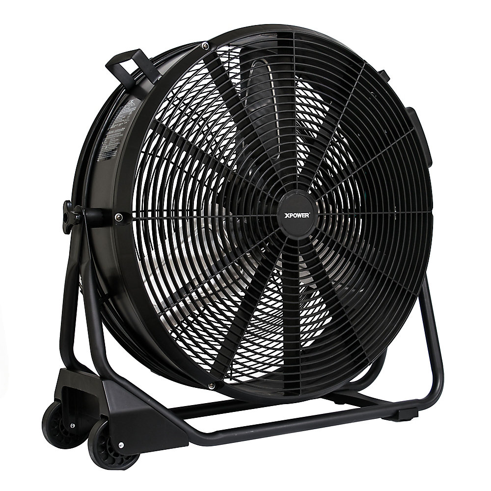 Brushless Dc High Velocity 24 Inch Drum Fan
