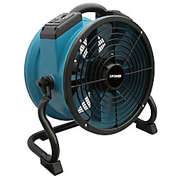 XPOWER 1/4 Hp Professional Axial Fan With Daisy Chain And Rack