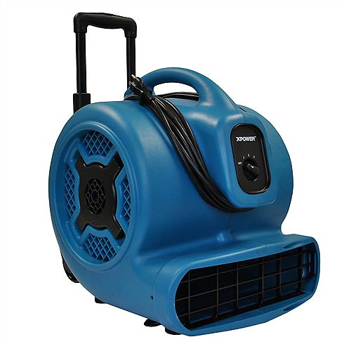 XPOWER 1 Hp Air Mover With Handle