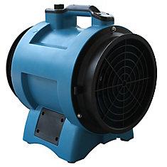 Industrial Confined Space 8 Inch Fan, 1/3 Hp