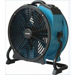 XPOWER 1/4 Hp Proffesional Axial Fan With Daisy Chain And Rack