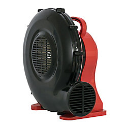 XPOWER 1/2 Hp Highstatic Pressure Blower For Play Structures 10' X 10' To 13' X 13'
