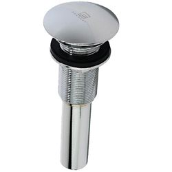 Decolav Chrome Polished Umbrella Drain without Overflow