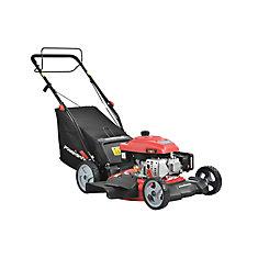 21-inch 3-in-1 161cc Gas Self Propelled Walk Behind Lawn Mower