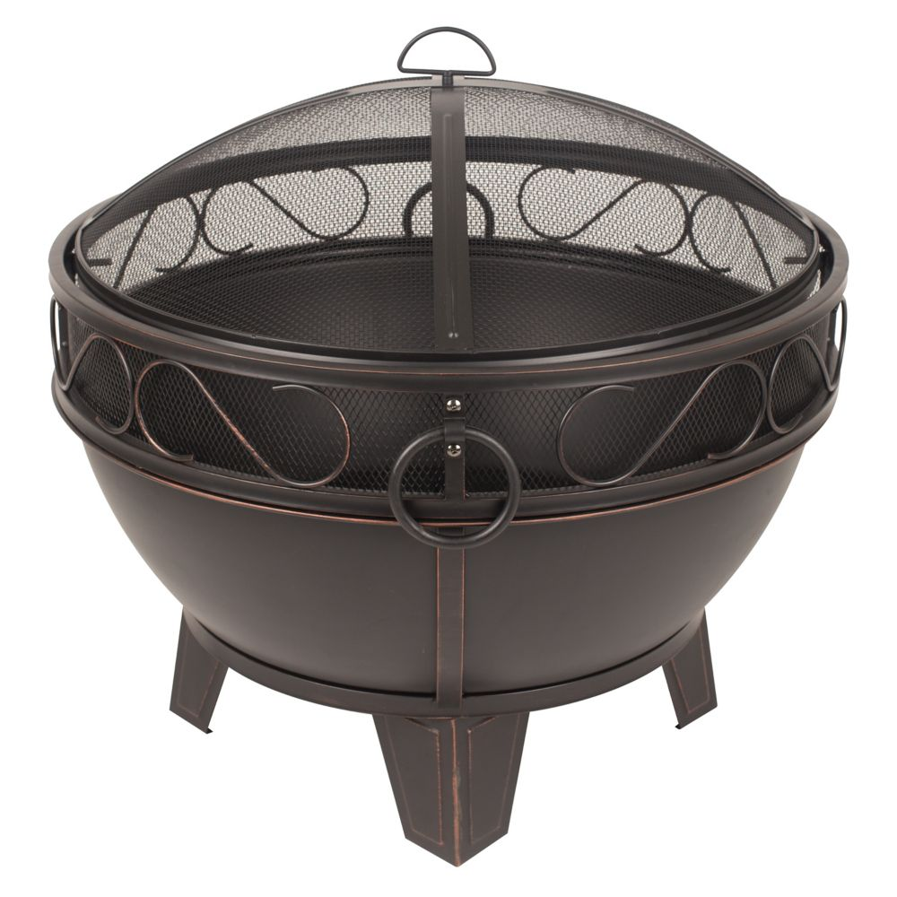 Pleasant Hearth Bellora with cooking grid