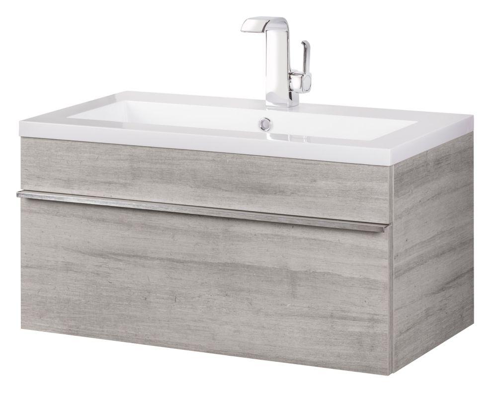 """Cutler Kitchen & Bath Trough Collection 30"""" Applique murale de salle de bains moderne - Soho"""
