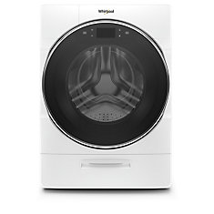 5.8 cu. ft. Smart Front Load Washer with Load & Go XL Plus in White