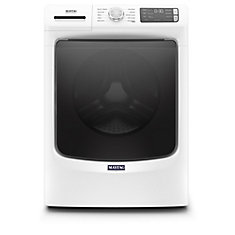5.2 cu. ft. Front Load Washer with Steam in White - ENERGY STAR®