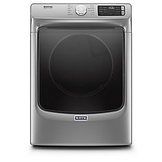 7.4 cu. ft. Front Load Electric Dryer in Chrome Shadow - ENERGY STAR®