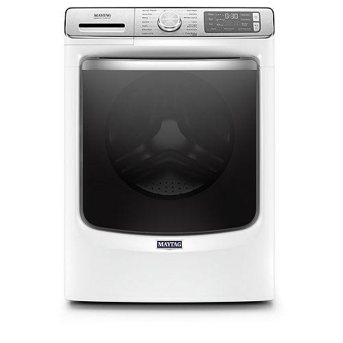 Maytag 5.8 cu. ft. Smart Front Load Washer with Steam in White - ENERGY STAR®