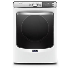 7.4 cu. ft. Smart Front Load Gas Dryer in White - ENERGY STAR®