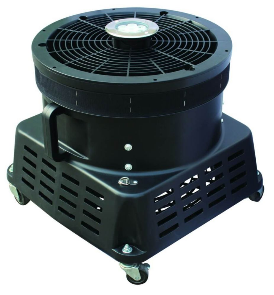 XPOWER 18 Inch Vertical Ad Blower With Lights, 1 Hp