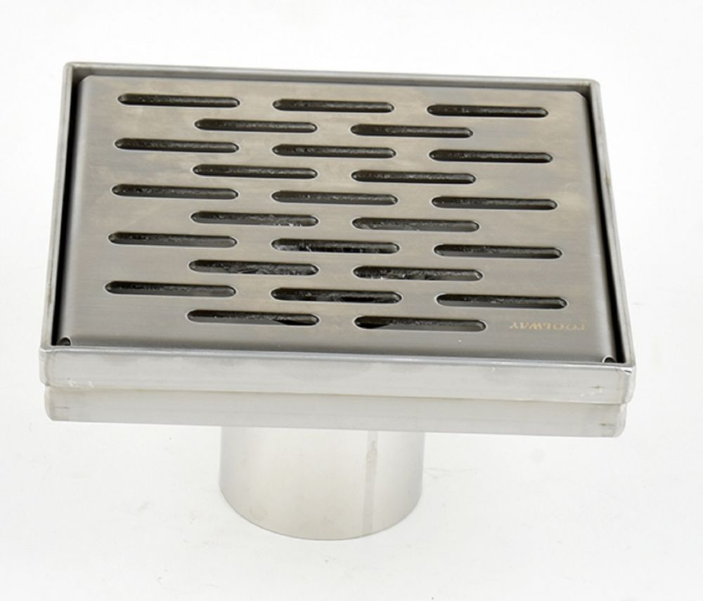 Luxury Drains Square Shower Drain Grill Grid