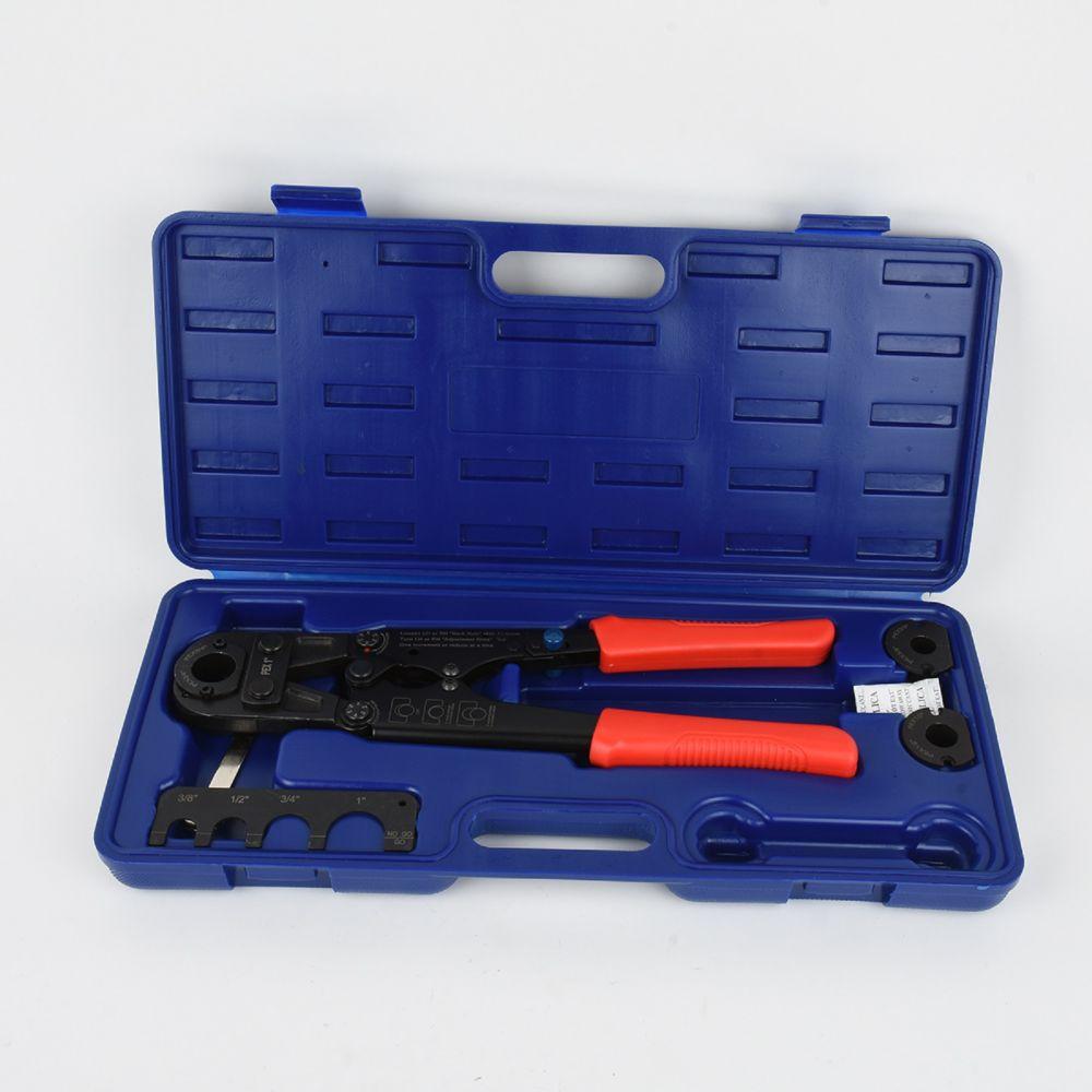 Firm Grip PEX Multi-Head Crimp 3/8-1/2-3/4-1 inch.
