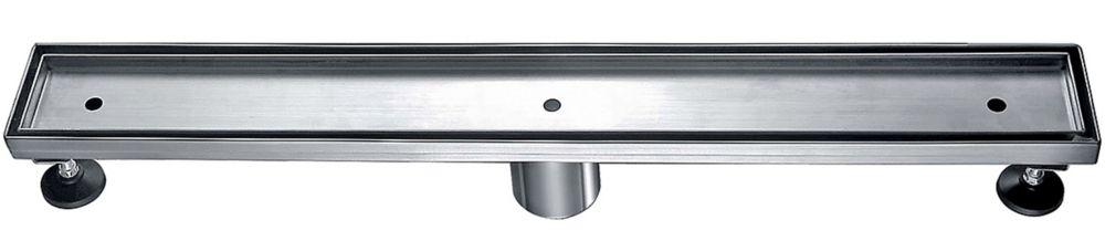 Luxury Drains Linear Shower Drain Tile-in, 47 inch.