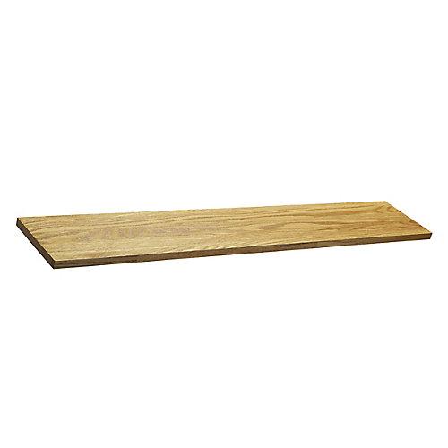 Prefinished Golden Oak Stair Riser, 7 1/2 inch x 42 inch x 3/4 inch