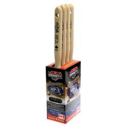 BENNETT 4 Pack Polyester/Nylon Paint Brushes, 50MM