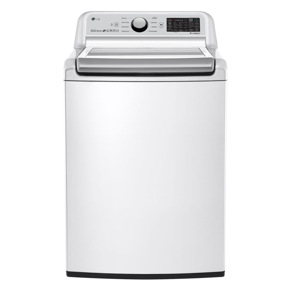 5.8 cu.ft Top Load Washer in White, ENERGY STAR®