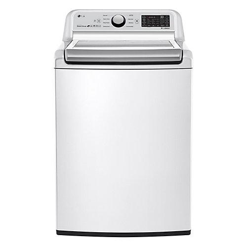 Laveuse à charge supérieure de 5,8 pi3 en blanc, ENERGY STAR®