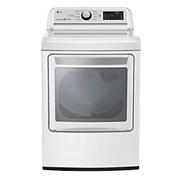 7.3 cu.ft. Front Load Electric Dryer in White - ENERGY STAR®