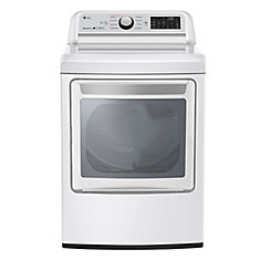 7.3 cu.ft. Front Load Electric Dryer in White