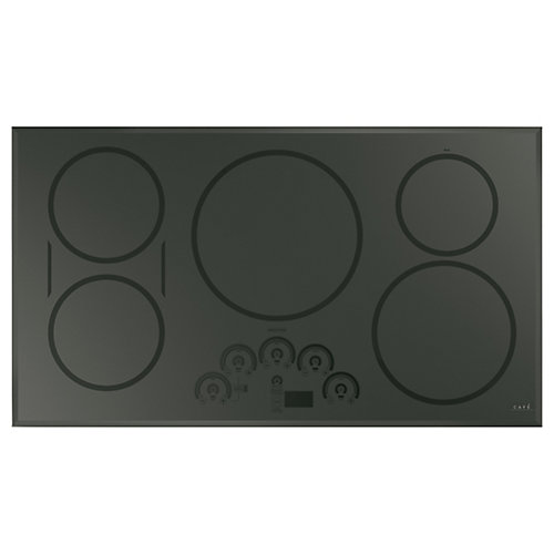 36-inch Induction Cooktop in Flagstone Grey with 5 Elements including Sync-Burners