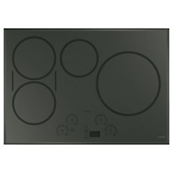 Café 30-inch Induction Cooktop in Flagstone Grey with 5 Elements including Sync-Burners