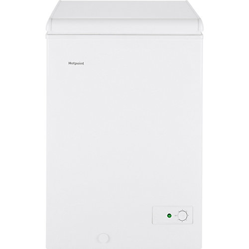 3.5 cu. ft. Chest Freezer in White