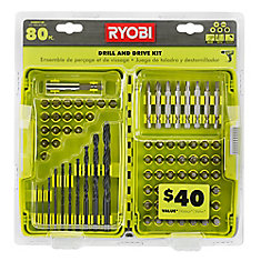 Black Oxide Drill and Drive Kit (80-Piece)