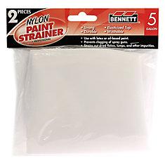 2 Pack Paint strainer, 5 Gallon
