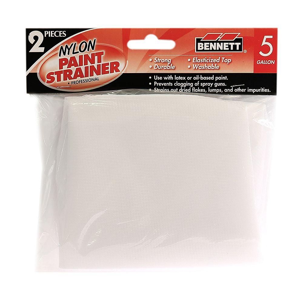 BENNETT 2 Pack Paint strainer, 5 Gallon