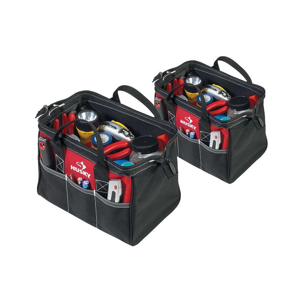Husky 12-inch 2-Pack Tool Bag