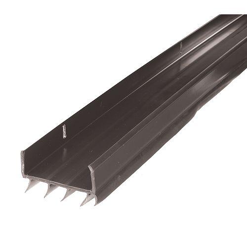 M-D 1-3/4-inch x 36-inch U-shaped Under Door Bottom Black