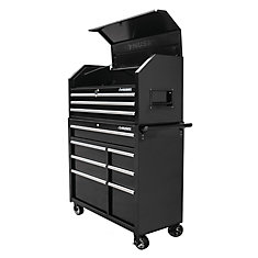 42-inch 10-Drawer Tool Chest and Cabinet Set