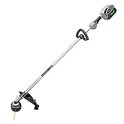 EGO 15-inch 56V Lithium Ion Cordless Electric Rear Motor String Trimmer Kit  5.0Ah Battery and 210W Charger Included