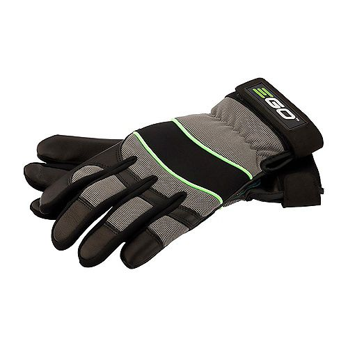 EGO POWER+ Goat Skin Leather Work Gloves - Medium