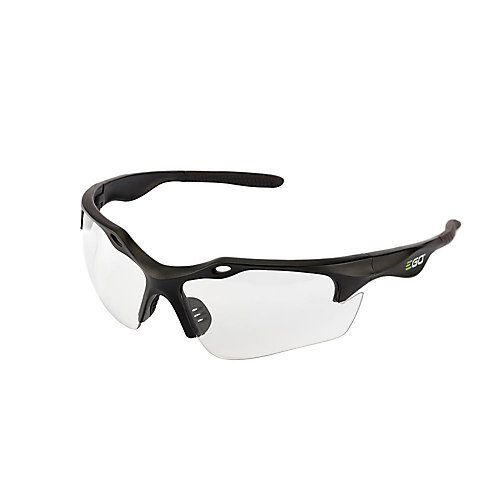 Anti-Scratch Safety Glasses with Clear Lenses