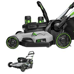 EGO 21 inch Self Propelled Mower w/ (2) 5.0Ah Batteries & Rapid Charger