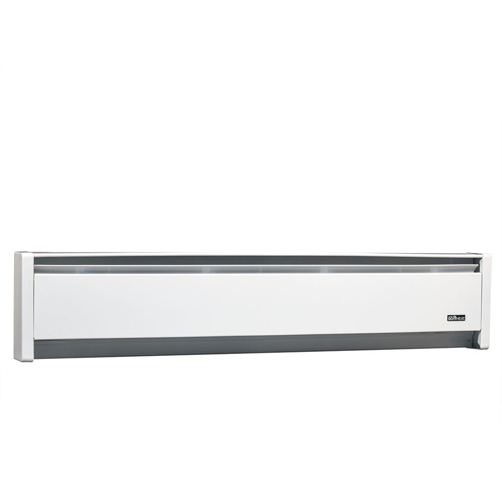 CADET HEAT 500W 240V, 35 inch SoftHeat hydronic baseboard, white
