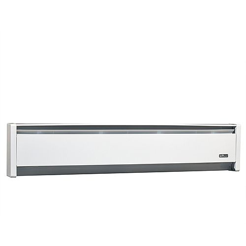 CADET HEAT 1500W 240V, 83 inch SoftHeat hydronic baseboard, white