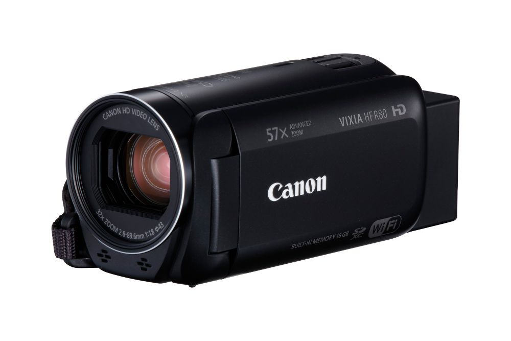 Canon VIXIA HF R80 16GB Camcorder