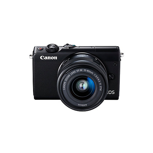 EOS M100 Mirrorless Camera EF-M 15-45mm IS STM Kit