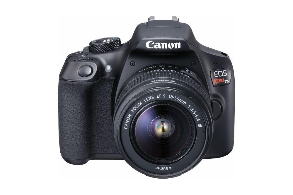 Canon EOS Rebel T6 EF-S 18-55mm IS III Kit