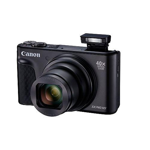 Canon PowerShot SX740 HS Black w/ Case