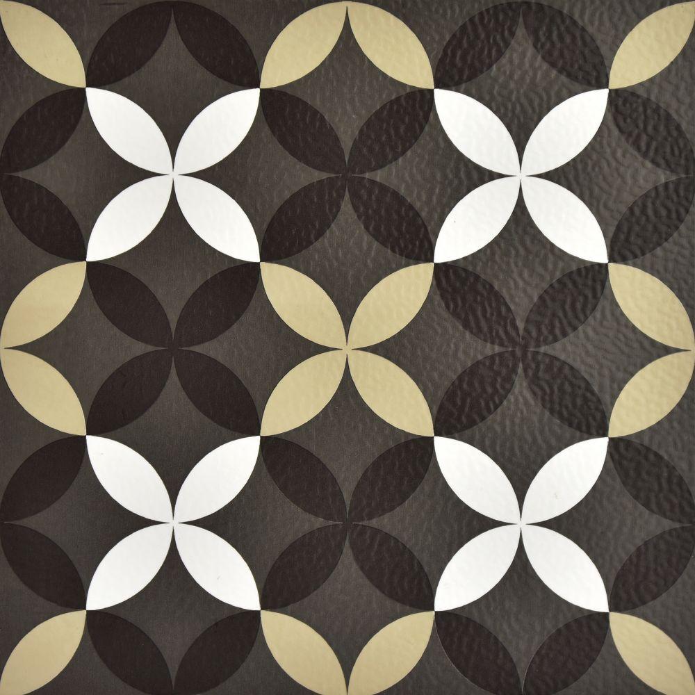 FloorPops 12-inch x 12-inch Clover Peel & Stick Vinyl Tile Flooring (20 sq. ft. / case)