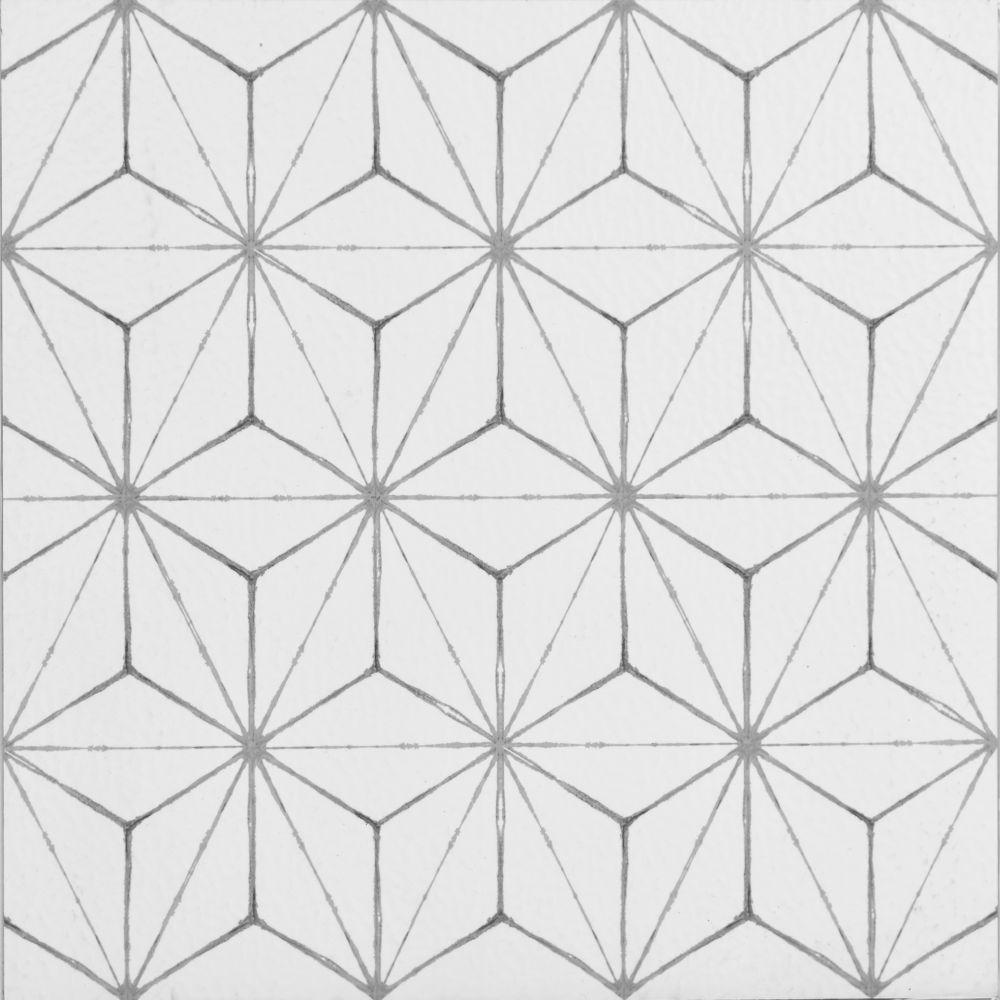 FloorPops 12-inch x 12-inch Kikko Peel & Stick Vinyl Tile Flooring (20 sq. ft. / case)
