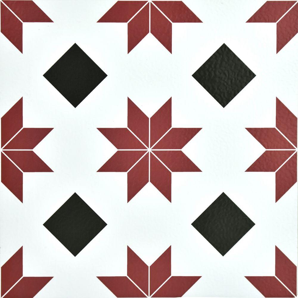 FloorPops 12-inch x 12-inch Orion Peel & Stick Vinyl Tile Flooring (20 sq. ft. / case)